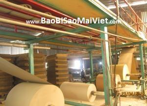dây chuyền sản xuất bao bì carton giấy chống thấm